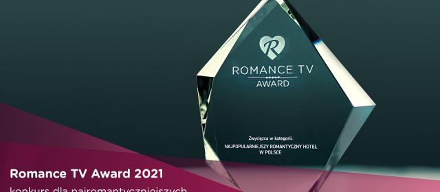 Ruszyła piąta edycja Romance TV Award – konkursu na najbardziej romantyczne hotele i restauracje w Polsce!